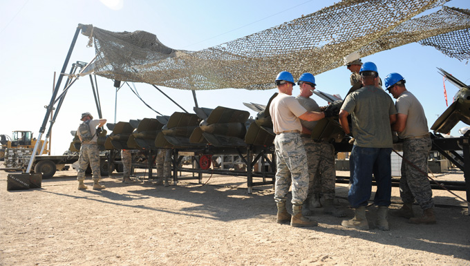 Anatomy of a bomb: USAF senior leaders get hands on experience